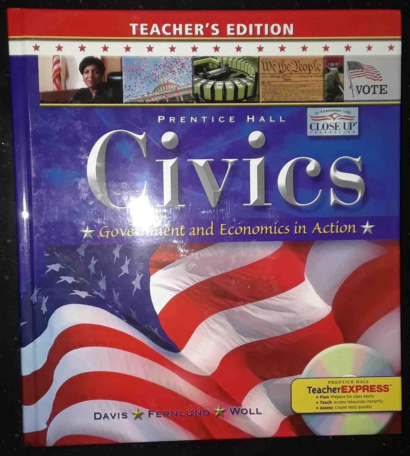 Civics Government and Economics in Action: James E. Davis: 9780133651768:  Amazon.com: Books