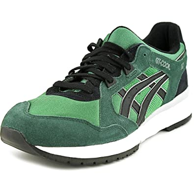 Asics H402N-8490: Classic GT-Cool OG GREEN/Black Casual Running Sneaker