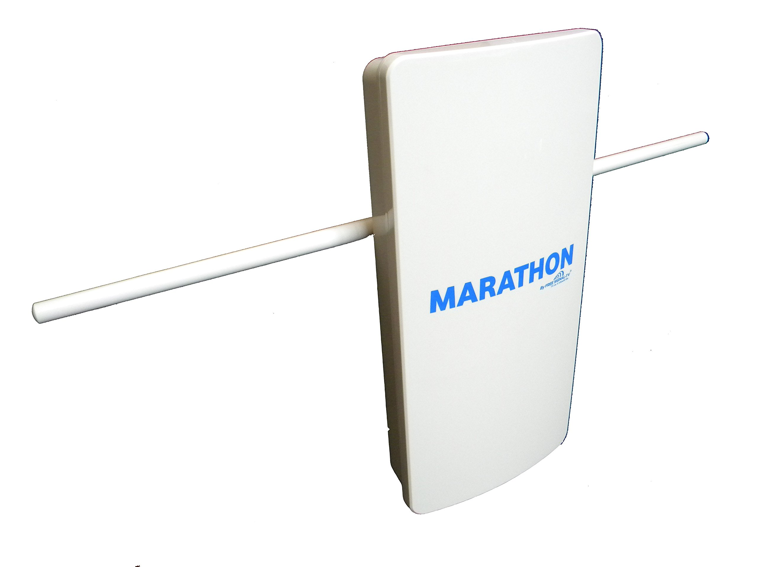 Marathon HDTV Long Distance Amplified Indoor / Outdoor Digital TV Antenna. Long Range High Definition UHF - VHF Reception and Top Rated Whole House Performance by Free Signal TV by Free Signal TV