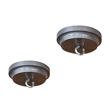 Rack It Up Trim Ceiling Covers (set of 2), Steel Gray Hammertone