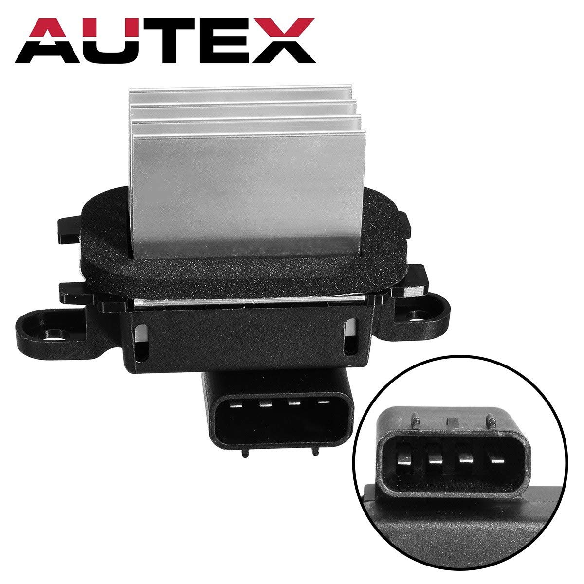 AUTEX ATC HVAC Blower Motor Resistor Compatible with Ford Expedition,Lincoln Navigator 2009-2017 Replacement for Ford F-150 09-14,Lincoln Mark Lt 10-14 Resistor RU893 JA1925