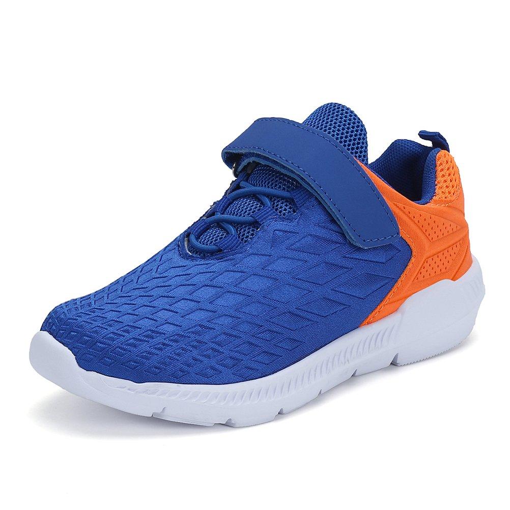 AFFINEST Unisex Kinder Sportschuhe Fashion Seakers Breathable Leuchtschuhe Freizeitschuhe Jungen Outdoor Schuhe mit Multicolor Blau