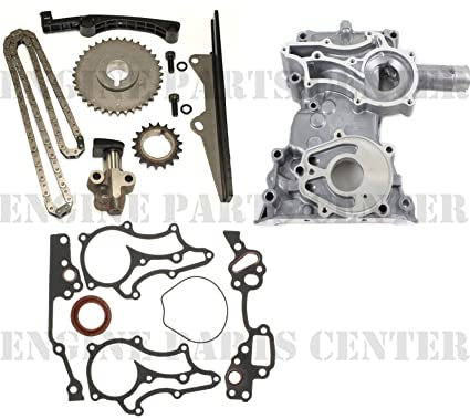 Amazon com: CLOYES HEAVY DUTY TIMING CHAIN+COVER KIT w/STEEL GUIDE