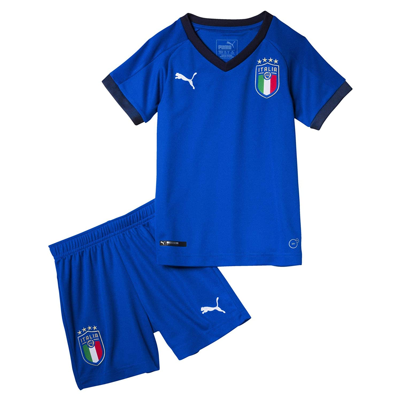 Team Power Blue-Peacoat Taille Fabricant : 98 Puma FIGC Italia ...