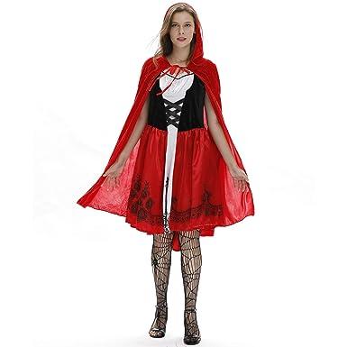 Caperucita Roja Disfraz Traje Castillo Reina Disfraz ...