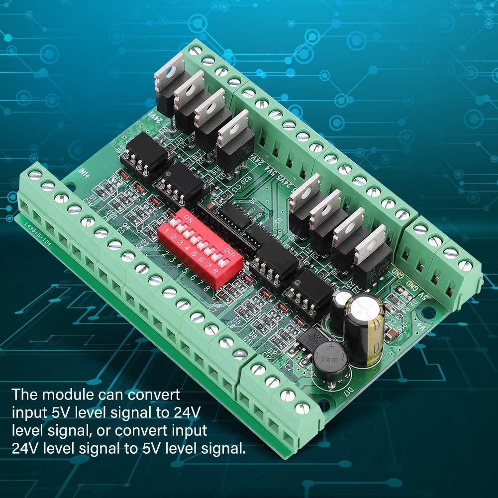 24V 10MHZ Pegelumsetzer Pegelwandler 8 Kanal Level Converter Module 5V