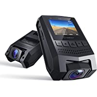 """Crosstour Mini Dash Cam 1080P FHD Car Camera Recorder with 1.5"""" LCD Screen 170°Wide Angle, Parking Mode, Motion…"""