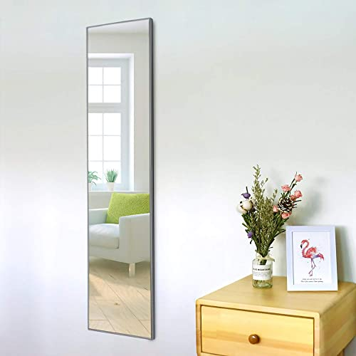 Ecentaur Full Length Mirror Hanging Wall Mirrors Door Mirror