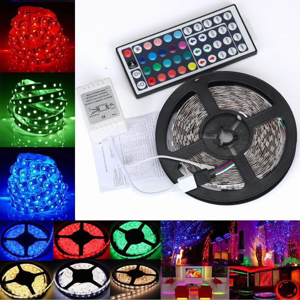 Amazon coupon code for 5M SMD RGB Color Changing LED Strip Light