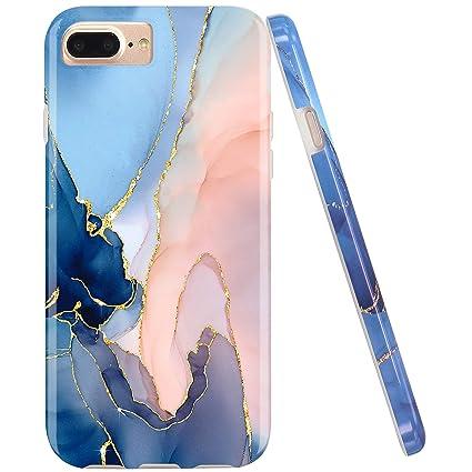 Amazon.com: JAHOLAN - Carcasa para iPhone 7 Plus/8 Plus/6 ...