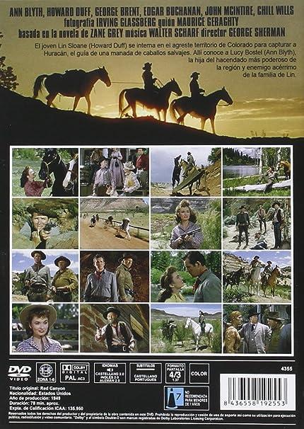 Huracán 1949 DVD Red Canyon: Amazon.es: Ann Blyth, Howard ...