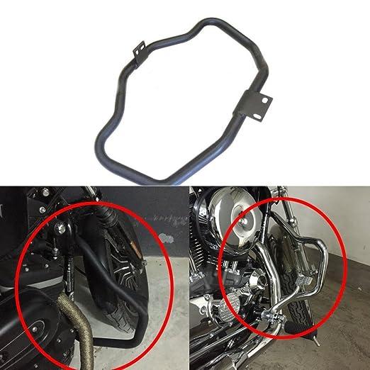 Alpha Rider Front Bumper Buffer Crash Bar Knee Legs Protect Engine Guard for Harley Davidson Superlow XL883L 2011-2017 XR1200X XR 1200X 2011-2012 XR1200 XR 1200 2010