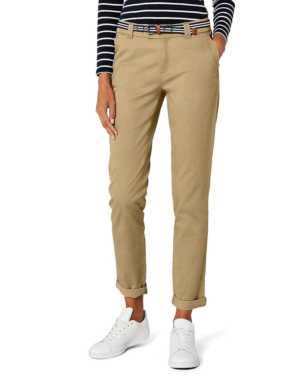 Esprit mit Gürtel Pantalones para Mujer