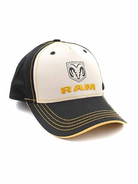 H3 Headwear Dodge Ram Trucks Adjustable Ball Cap Hat (Black Tan 8dea673c067