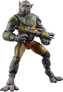 """Star Wars The Black Series Garazeb """"Zeb"""" Orrelios Toy 6-Inch-Scale Star Wars Rebels Collectible Deluxe Action Figure, Kids Ages 4 and Up"""