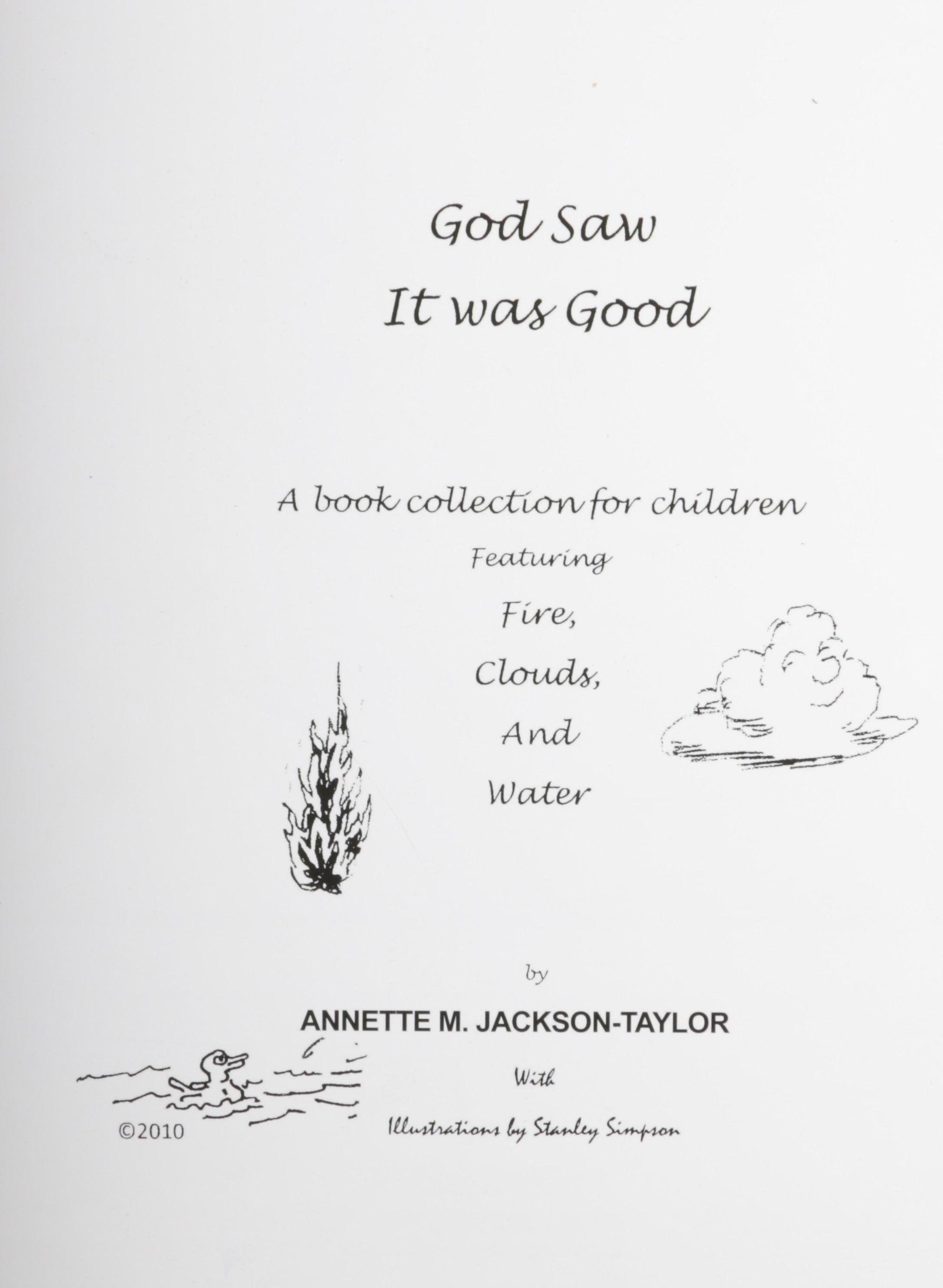 God Saw It Was Good PDF