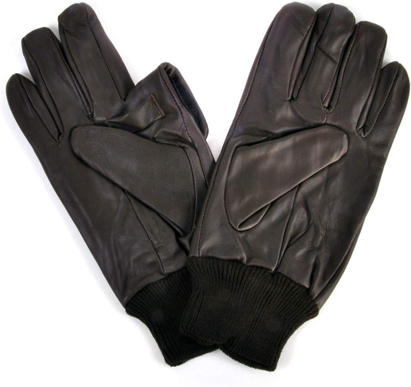 Extra Large Sophos Trigger Finger Brown Leather Shooting Gloves