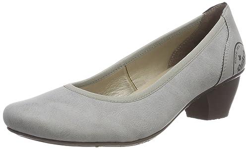 47620, Zapatos de Tacón para Mujer, Gris (Staub), 39 EU Rieker