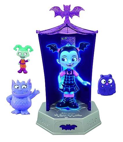 Amazon Com Vampirina Glowtastic Friends Set Dolls Toys Games