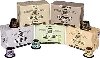 Cap'Mundo Paris Nespresso Compatible Coffee Capsules - 50 Pods