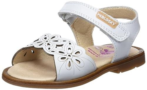 Pablosky , Sandales pour fille - Blanc Cassé - BLANCO, 21 EU
