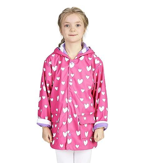 da1abd8aa8e51 Hatley Girls' Printed Raincoats