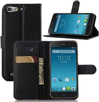 Guran? Funda de Cuero para ZTE Blade V6 Smartphone Tirón de la ...
