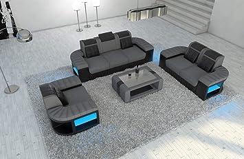 Sofa Dreams Sofá de Tela Conjunto Juego de 3 2 1 Bellagio ...