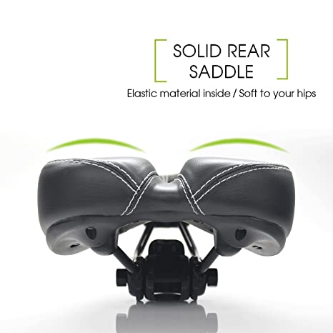 New Bike Bicycle Saddle Seat Comfort Pro Road Saddle MTB Sport Hollow Black Soft
