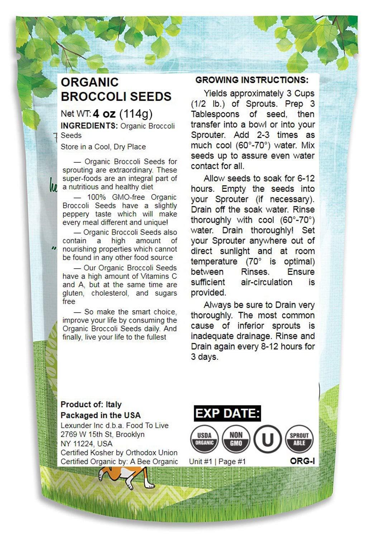 Alfalfa convencional y orgánico: Amazon.com: Grocery ...