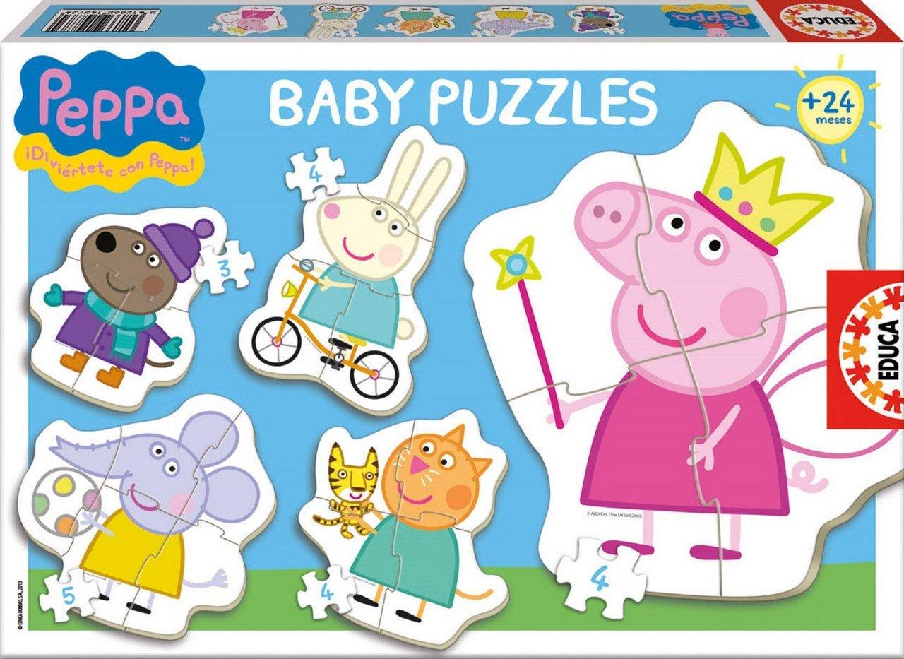 Educa Juegos - Peppa Pig baby puzzle (15622) Educa Borrás 29-15622