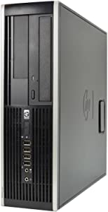 HP Elite 8200 SFF Business Desktop Computer, Intel Core i7-2600, 2TB HDD, 16GB DDR3, Windows 10 Professional (Renewed) (i7 | 16GB | 2T HDD | Wind 10 Pro + WiFi)