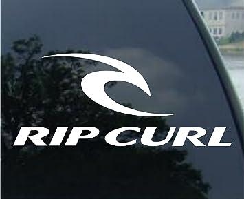 Rip Curl Decal Surf Skate Board Truck Window Sticker Amazoncouk - Window stickers amazon uk