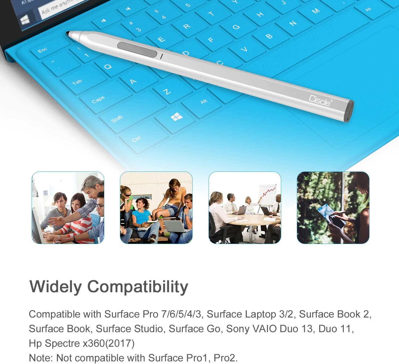 Surface Go kompatibel mit Surface Pro 7 wiederaufladbarer 1.0-mm-Eingabestift mit 4096-Druckempfindlichkeit und Handfl/ächenabweisung Surface Pro 6 Surface Laptop 3 Ciscle Microsoft Surface Pen