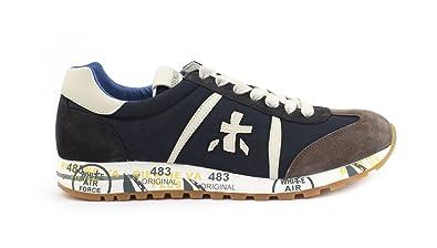 PREMIATA Herren Sneaker Blau Blau  Amazon.de  Schuhe   Handtaschen 471c6f69bc