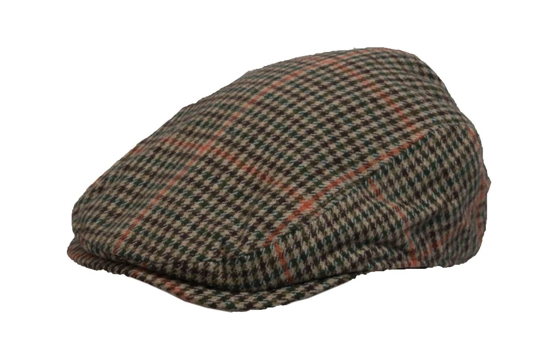 Uni-Sex Country Wool Flat Cap Walker /& Hawkes