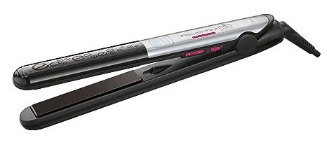 Rowenta Liss & Curl SF4522F0 Plancha de pelo, alisa, ondula y riza, con recubrimiento de Keratina y Turmalina, función iónica con placas largas, ...