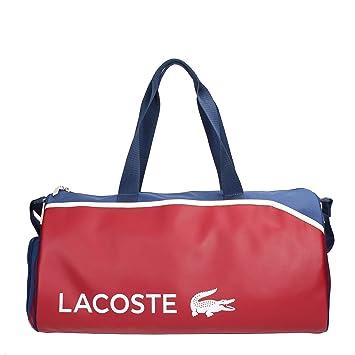 5b74dc5f92 Lacoste - Sac de voyage Lacoste Roll Bag ref_cem36549-720-chilli-blue-