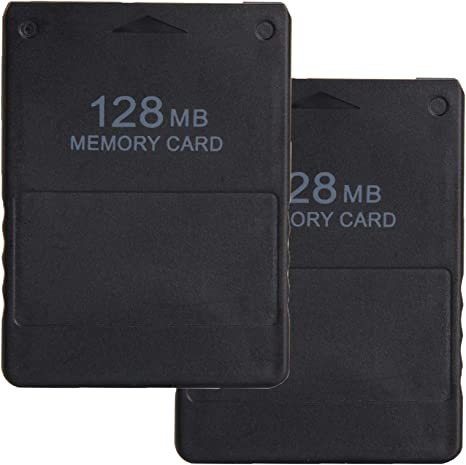 LEAGY 2 Paquetes Tarjeta de memoria de 128MB para Sony Playstation ...
