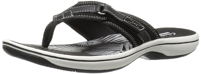6af8f9721e37 Clarks Womens Breeze Sea Flip Flops  Amazon.ca  Shoes   Handbags