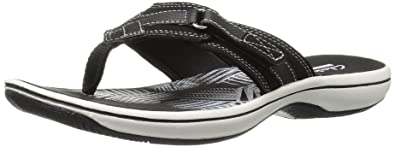 be29aeafd439 Clarks Women s Breeze Sea Flip-Flop  Buy Online at Low Prices in ...