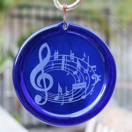 Amazon 4 Inch Etched Music Clef And Notes Suncatcher From Our