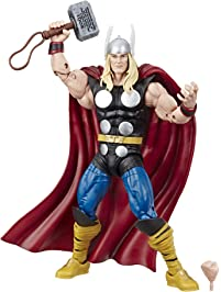 "Marvel Comics 80th Anniversary Legends Series 6""-Scale Vintage Comic-Inspired Thor Collectible Action Figure"