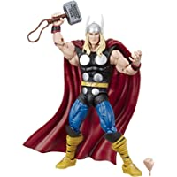 Marvel Legends Series Thor - Figura de acción de 15 cm coleccionable y vintage inspirada en las historietas en conmemoración del 80 aniversario