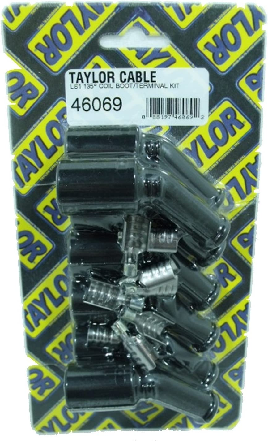 Taylor Cable 46005 Spark Plug Boot And Terminal Kit