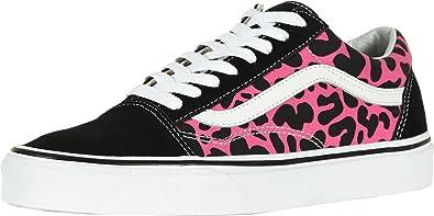 3c37f625f8 Vans U Old Skool (0K6) (Leopard) Pink Black (14.5 Women