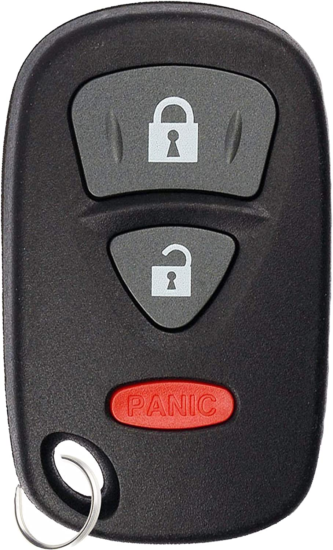 KeylessOption Keyless Entry Remote Control Car Key Fob Transmitter Alarm for Suzuki SX4 07-09 Grand Vitara 06-12 KBRTS005