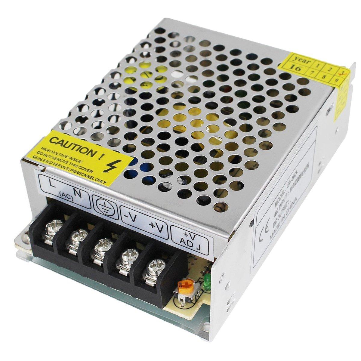 OYY AC-DC 24V 16.7A Schaltnetzteil 400W Transformator Netzteil fü r den Dauereinsatz Schalter 110-220V Ausgang fü r LED-Gerä te, Videokameras, Ü berwachungsanlagen, Diebstahlschutz-Anlagen