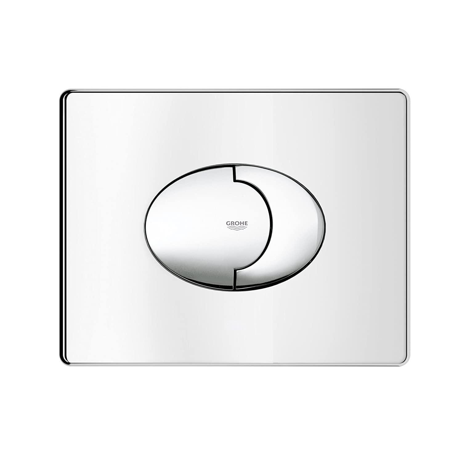 Grohe 38506000 skate air wc wall plate amazon diy tools pooptronica Image collections