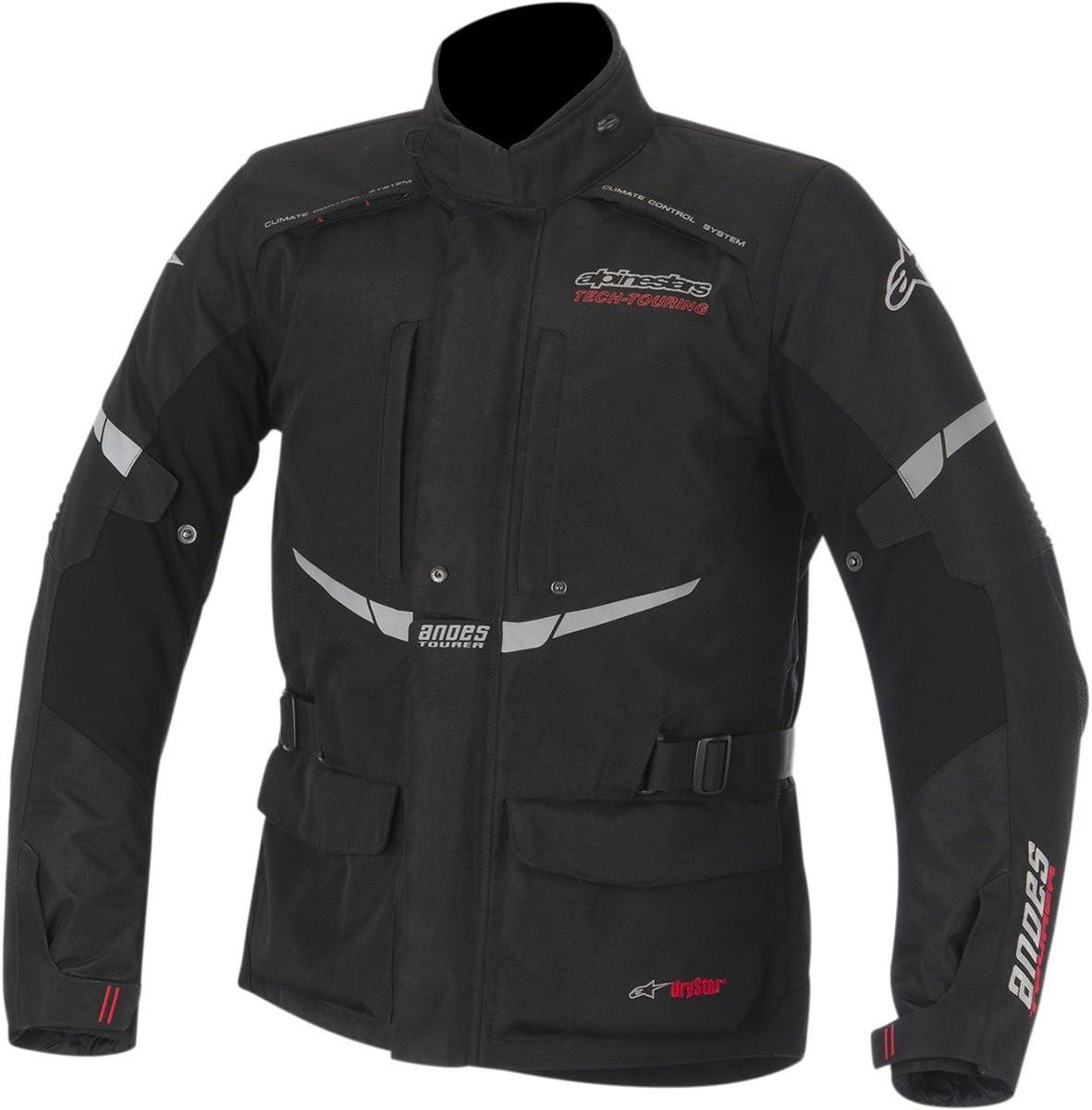 Veste de moto imperm/éable et respirante Alpinestars Andes dryStar S Grigio chiaro nero